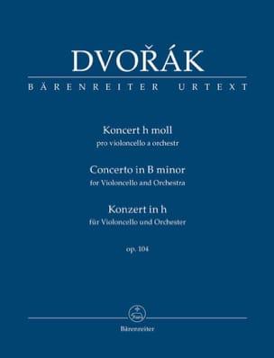 Antonin Dvorak - Concerto Violoncelle op. 104 - Conducteur poche - Partition - di-arezzo.fr