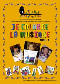 Philippe Kaczmarek - I color the music - Volume 1 - Sheet Music - di-arezzo.co.uk
