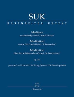 Meditation, op. 35a - Conducteur - Josef Suk - laflutedepan.com