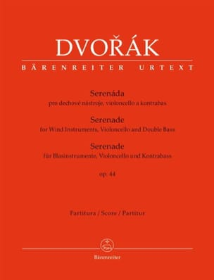 DVORAK - Serenade, opus 44 - Conductor - Sheet Music - di-arezzo.co.uk