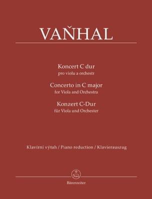 Johann Baptist Vanhal - Concerto in C Major - Viola and piano - Sheet Music - di-arezzo.co.uk