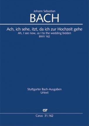 Ach, ich sehe.., BWV 162 - Conducteur - laflutedepan.com