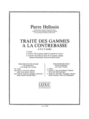 Pierre Hellouin - Treatise on Ranges, Cycle 2 B - Double Bass - Sheet Music - di-arezzo.com