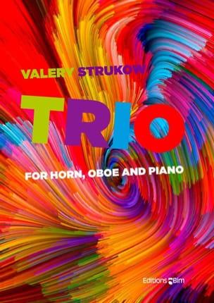 Trio - Hautbois, Cor et piano Valery Strukow Partition laflutedepan