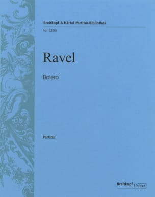 Maurice Ravel - Boléro - Conducteur Grand Format - Partition - di-arezzo.fr