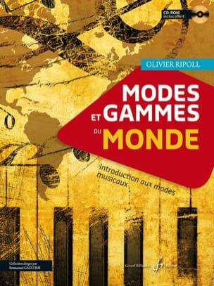 Modes et Gammes du Monde Olivier Ripoll Partition laflutedepan
