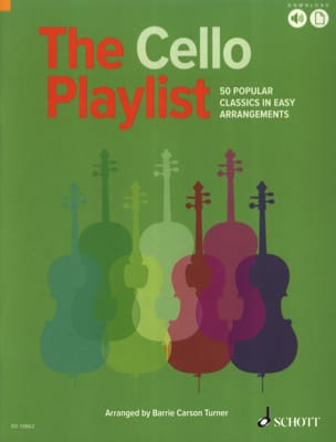The Cello Playlist - Cello - Sheet Music - di-arezzo.co.uk