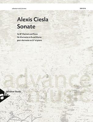 Alexis Ciesla - Sonate - Clarinette et piano - Partition - di-arezzo.fr