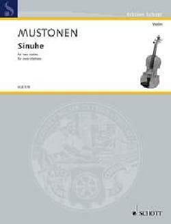 Olli Mustonen - Sinuhe - 2 violons - Partition - di-arezzo.fr