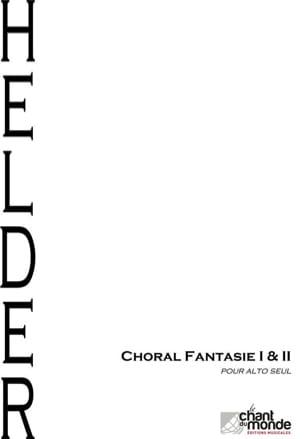 Choral Fantaisie I & II - Alto seul - laflutedepan.com