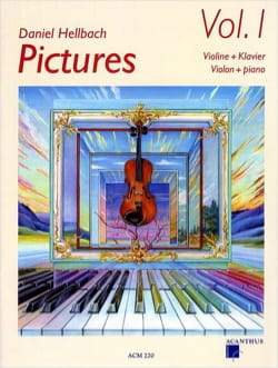 daniel Hellbach - Pictures vol. 1 - Sheet Music - di-arezzo.com