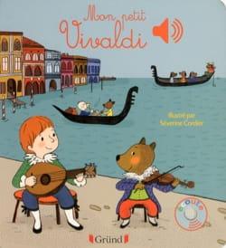 Mon petit Vivaldi Livre Découverte des compositeurs - laflutedepan
