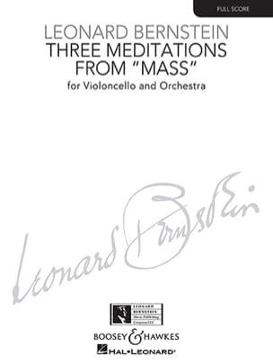 Leonard Bernstein - 3 Meditations - Partition - di-arezzo.fr