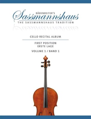 - Cello Recital Album Vol. 1 - Violoncelle et piano - Partition - di-arezzo.fr