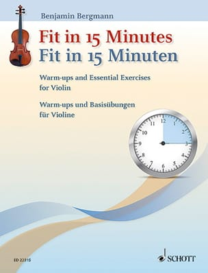 Benjamin Bergmann - Fit in 15 Minutes - Violon - Partition - di-arezzo.fr