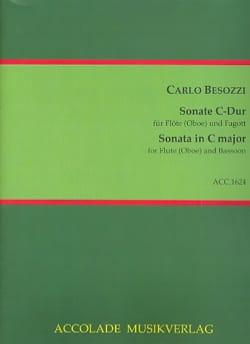 Sonate en Do Majeur - Flûte et Basson Carlo Besozzi laflutedepan