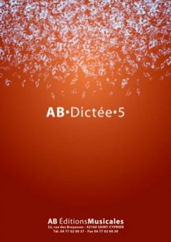 - AB Dictée - vol. 5 - Sheet Music - di-arezzo.co.uk