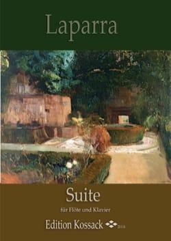 Suite - Flûte et piano - Raoul Laparra - Partition - laflutedepan.com