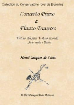 Croes Henri-Jacques De - Concerto primo pour Flûte - Conducteur et Parties - Partition - di-arezzo.fr