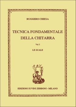 Ruggero Chiesa - Tecnica Fondamentale Vol. 1 Le Scale - Partition - di-arezzo.fr