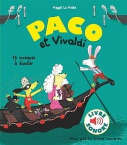 Huche Magali Le - Paco et Vivaldi - Livre - di-arezzo.fr