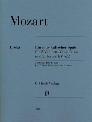Ein Musikalischer Spass, Kv 522 - Sextuor MOZART laflutedepan