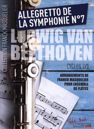 Allegretto de la Symphonie n° 7 - Ensemble de Flûtes + Contrebasse laflutedepan