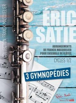 3 Gymnopédies - Ensemble de Flûtes + Contrebasse SATIE laflutedepan