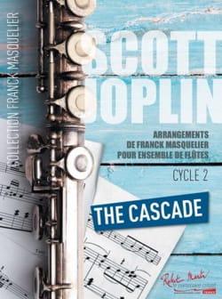 Scott Joplin - The Cascade - Ensemble de Flûtes Contrebasse ad lib. - Partition - di-arezzo.fr