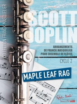 Scott Joplin - Maple Leaf Rag - Ensemble de Flûtes (+ Contrebasse) - Partition - di-arezzo.fr