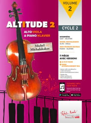 - Altitude 2 - Alto et piano - Partition - di-arezzo.fr