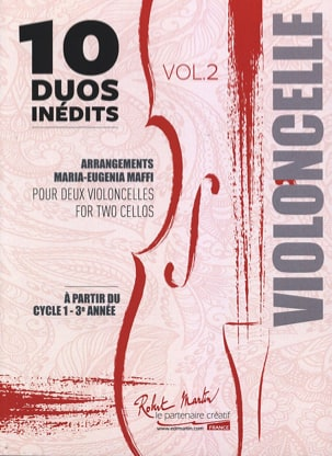 - 10 Duets Inédits vol. 2 - 2 cellos - Sheet Music - di-arezzo.com
