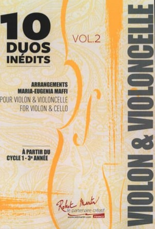 10 Duos Inédits - Volume 2 Partition 0 - laflutedepan