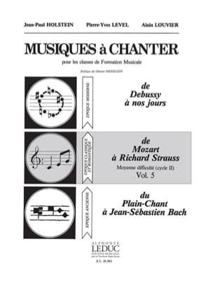 Musiques à chanter - Volume 5 laflutedepan