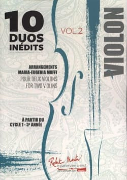 - 10 Unpublished Duos - Volume 2 - Sheet Music - di-arezzo.com