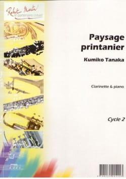 Paysage Printanier Kumiko Tanaka Partition Clarinette - laflutedepan