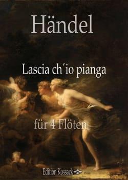 Georg Friedrich Haendel - Lascia ch'io pianga - 4 Flûtes - Partition - di-arezzo.fr