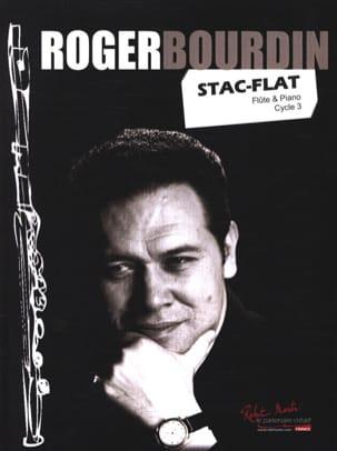 Roger Bourdin - Stac-Flat - Flûte et piano - Partition - di-arezzo.fr