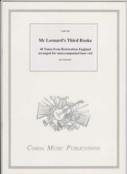 - Mr Leonard's Third Booke - Sheet Music - di-arezzo.com