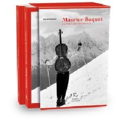 Maurice Baquet, Portrait avec violoncelle Hervé Bodeau laflutedepan