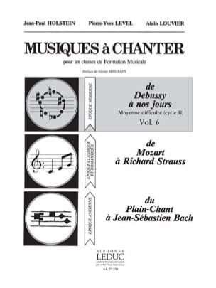 Musiques à chanter - Volume 6 laflutedepan