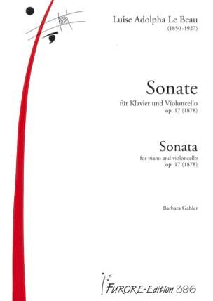 Sonate pour violoncelle et piano en ré majeur op.17 laflutedepan