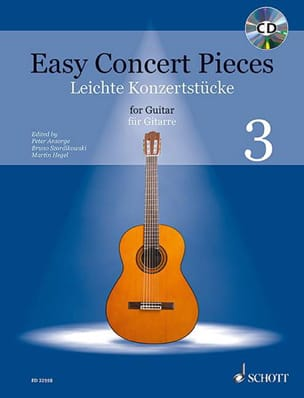 - Easy Concert Pieces Volume 3 - Guitare - Partition - di-arezzo.fr