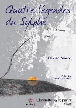 Quatre Légendes du Sylphe - Clarinette et piano laflutedepan