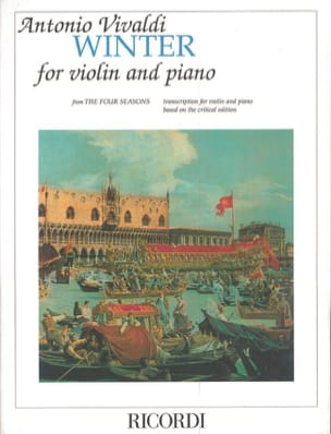 VIVALDI - Winter Winter - Violin and piano - Sheet Music - di-arezzo.com
