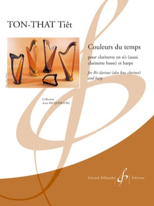 Tiêt TON-THAT - Colors of time - Clarinet and harp - Sheet Music - di-arezzo.com