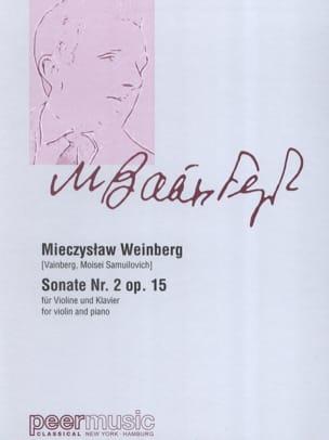 Sonate n° 2 opus 15 Mieczyslaw Weinberg Partition laflutedepan