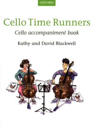 Cello Time Runners - Cello accompaniment book - Sheet Music - di-arezzo.co.uk