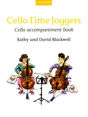 Cello Time Joggers - Cello accompaniment book Partition laflutedepan