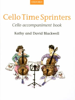 Cello Time Sprinters - Cello accompaniment book laflutedepan